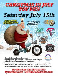 Christmas in July Toy Run!