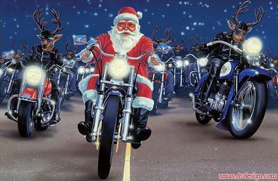 Christmas Motorcycle Pictures - CycleFish.com