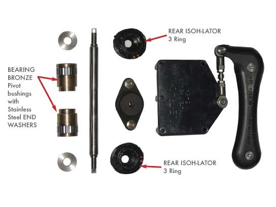 Motor Mount Stabilizers - CycleFish com