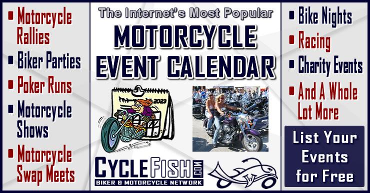 Motorcycle Events & Biker Rallies - CycleFish com